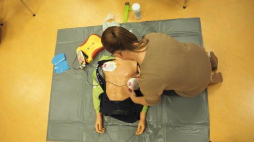 Reanimatie met AED
