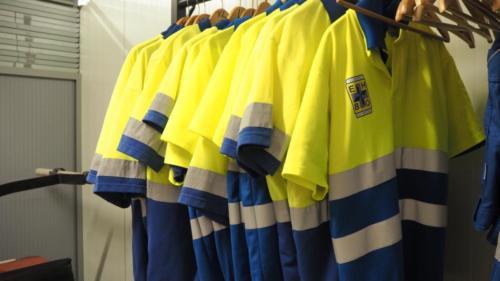 Onze uniformen, keurig op maat!